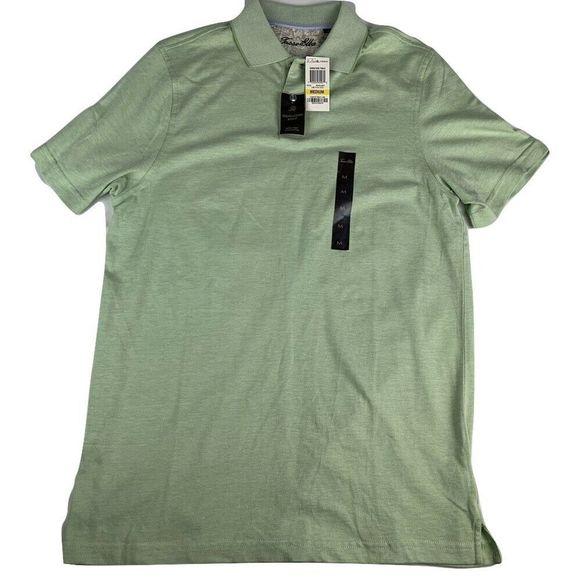 Tasso Elba Other - Tasso Elba Signature Polo Shirt Lime In Coco Green